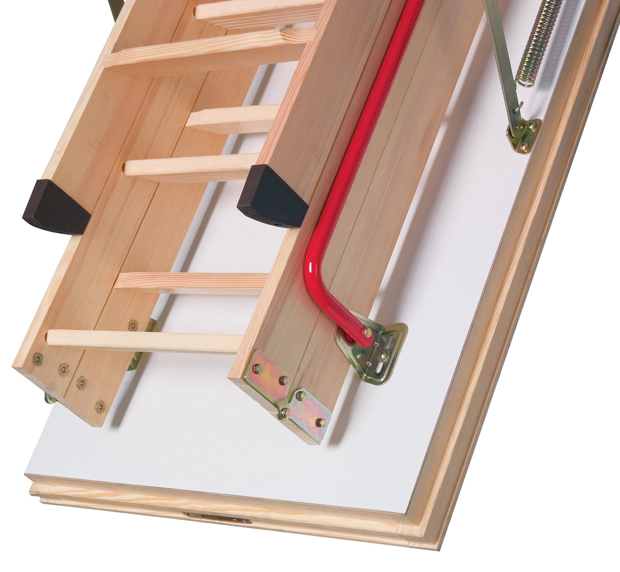 Scari modulare din lemn pentru acces la pod FAKRO - Poza 8