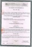 Certificat de conformitate pentru ferestre de evacuare a fumului - EN 12101-2 2003 FAKRO - FSP