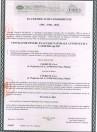 Certificat de conformitate pentru ferestre de evacuare a fumului - EN 12101-2 : 2003