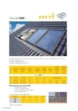 Panou solar pentru apa calda SKW FAKRO