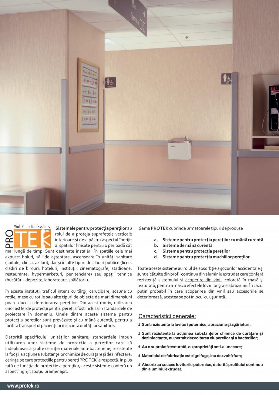 Pagina 2 - Sistem pentru protectia peretilor (100 mm) PROTEK PPS100/ PPS150 Fisa tehnica Engleza...