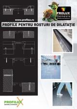 Profile pentru rosturi de dilatatie PROLUX