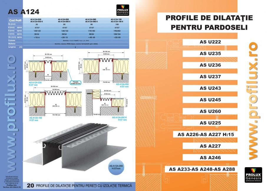 Pagina 11 - Profile pentru rosturi de dilatatie PROLUX MLB100, GOA603, GOA803, SCG002, MSA100,...
