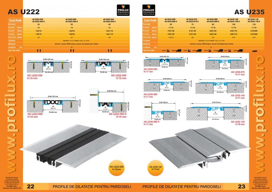 Pagina 12 - Profile pentru rosturi de dilatatie PROLUX MLB100, GOA603, GOA803, SCG002, MSA100,...