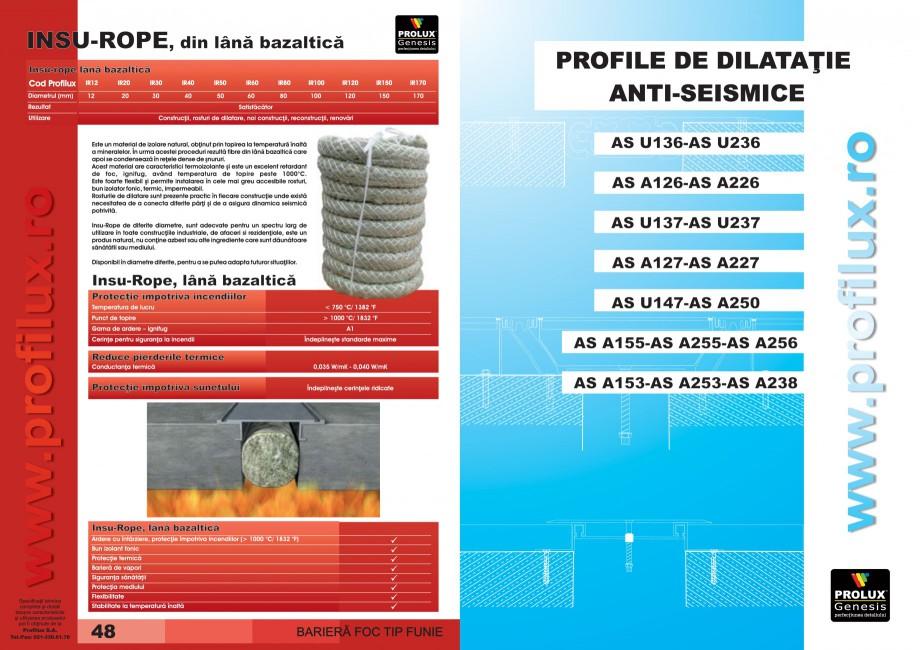 Pagina 25 - Profile pentru rosturi de dilatatie PROLUX MLB100, GOA603, GOA803, SCG002, MSA100,...