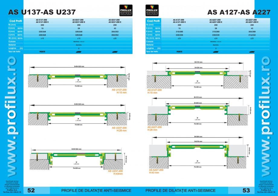 Pagina 27 - Profile pentru rosturi de dilatatie PROLUX MLB100, GOA603, GOA803, SCG002, MSA100,...