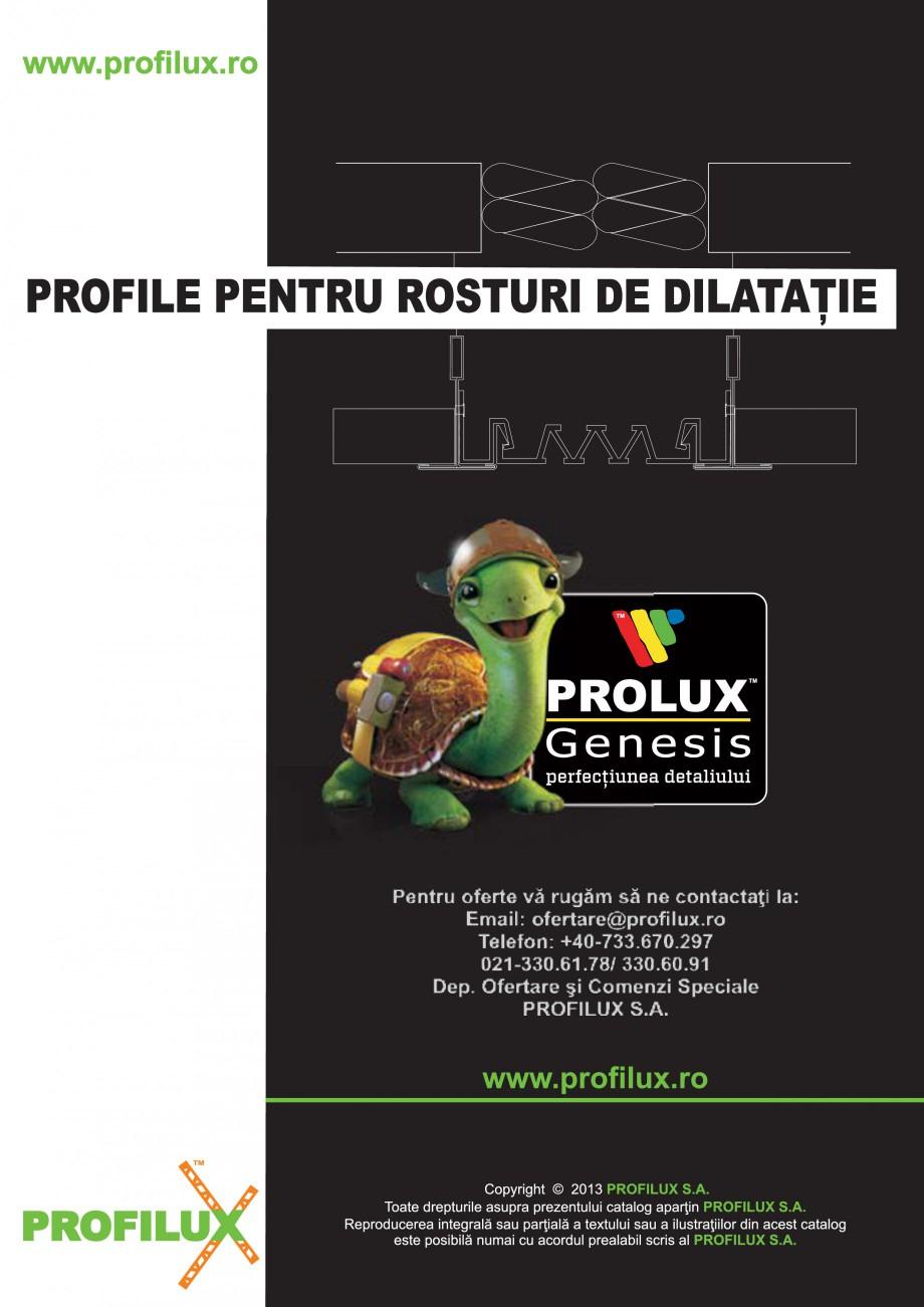Pagina 31 - Profile pentru rosturi de dilatatie PROLUX MLB100, GOA603, GOA803, SCG002, MSA100,...