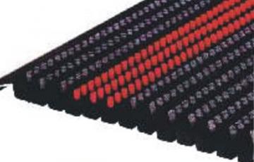 Stergatoare de picioare - sistem deschis Stergatoarele profesionale Promat sunt realizate din profile de aluminiu eloxat si sunt conectate intre ele cu ajutorul unor sarme din otel inoxidabil si insertii din diverse materiale.