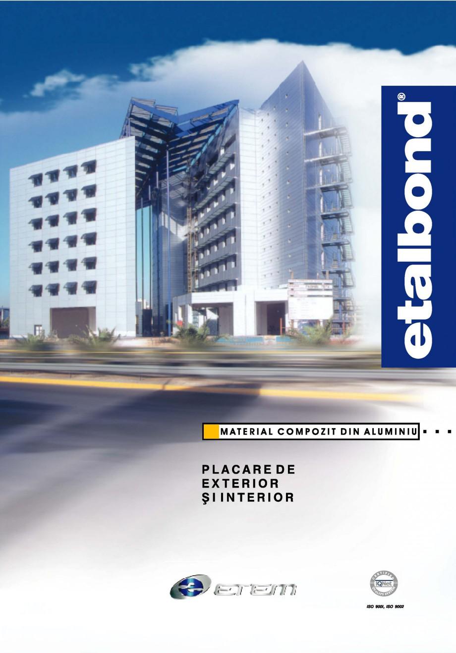 Pagina 1 - Panouri compozite din aluminiu pentru fatade ETALBOND etalbond® Catalog, brosura...