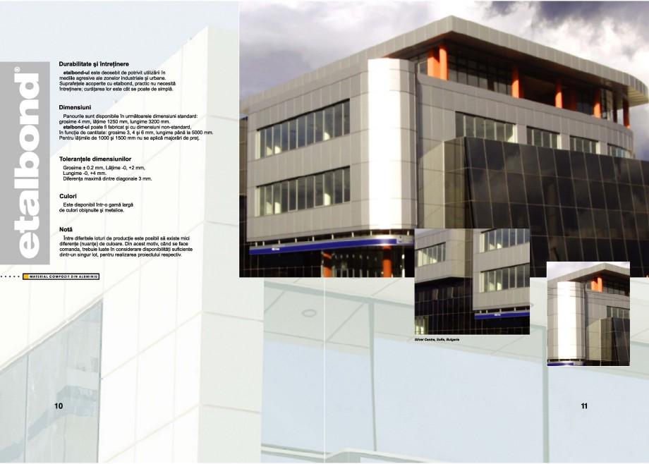 Pagina 9 - Panouri compozite din aluminiu pentru fatade ETALBOND etalbond® Catalog, brosura...