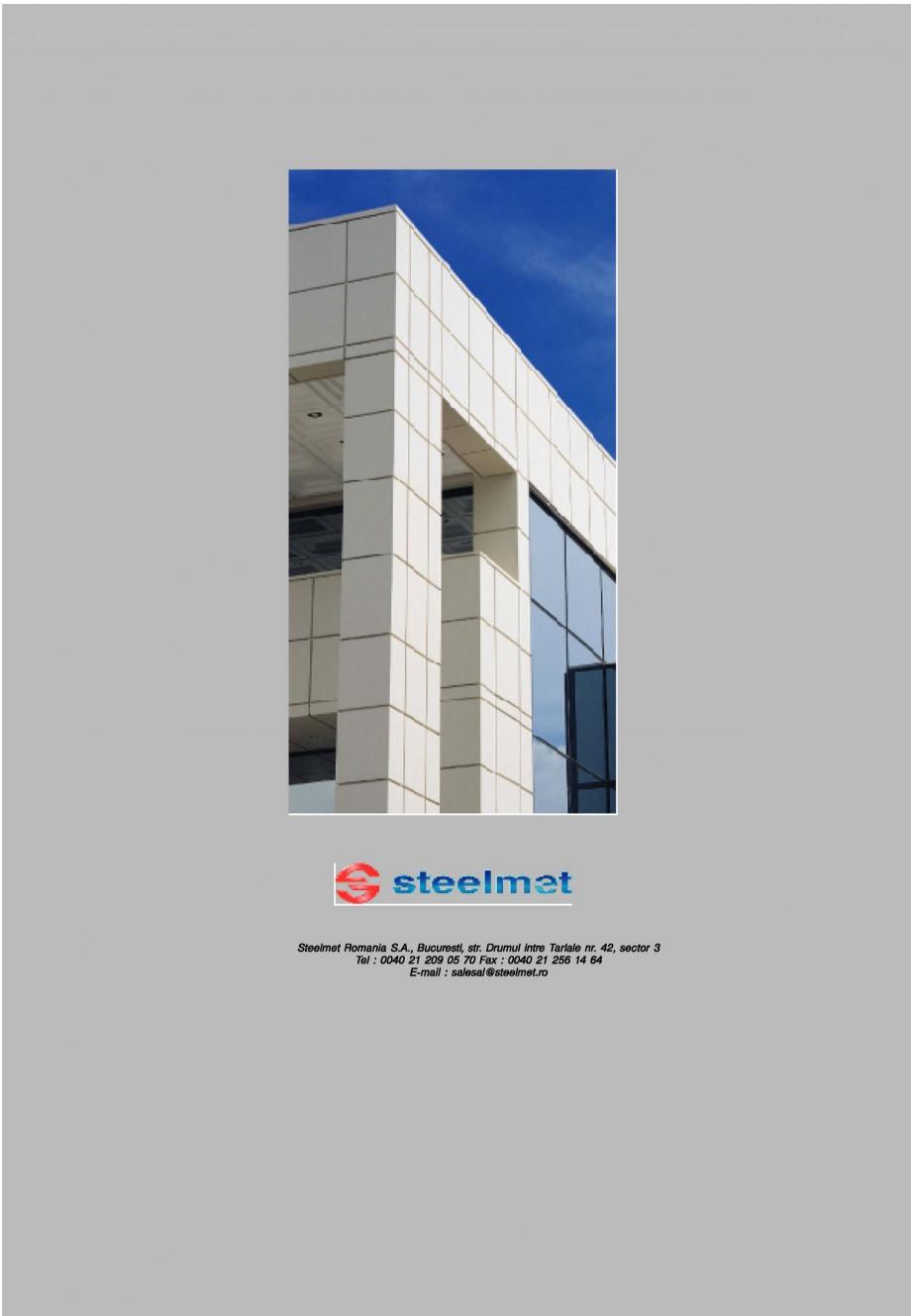 Pagina 10 - Panouri compozite din aluminiu pentru fatade ETALBOND etalbond® Catalog, brosura...