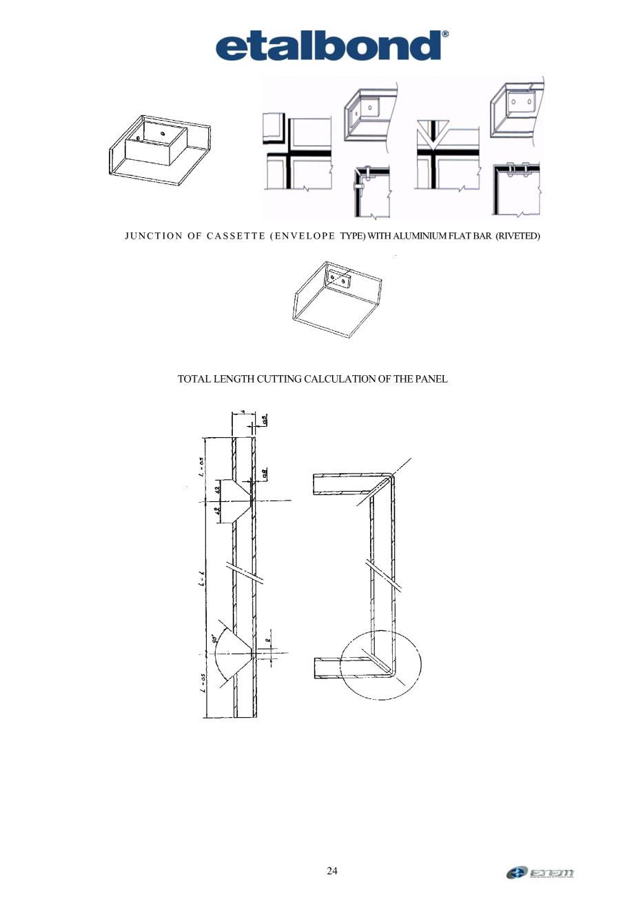 Pagina 15 - Prelucrarea panourilor compozite din aluminiu ETALBOND etalbond ® light, etalbond...