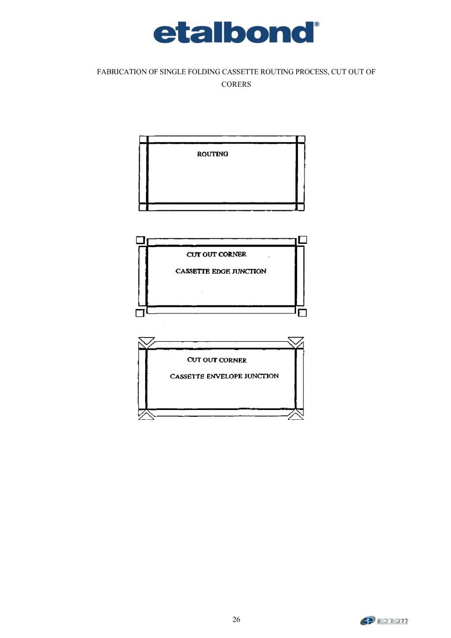 Pagina 17 - Prelucrarea panourilor compozite din aluminiu ETALBOND etalbond ® light, etalbond...