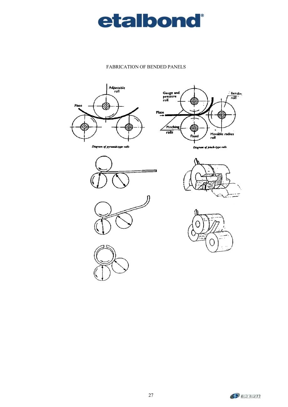 Pagina 18 - Prelucrarea panourilor compozite din aluminiu ETALBOND etalbond ® light, etalbond...