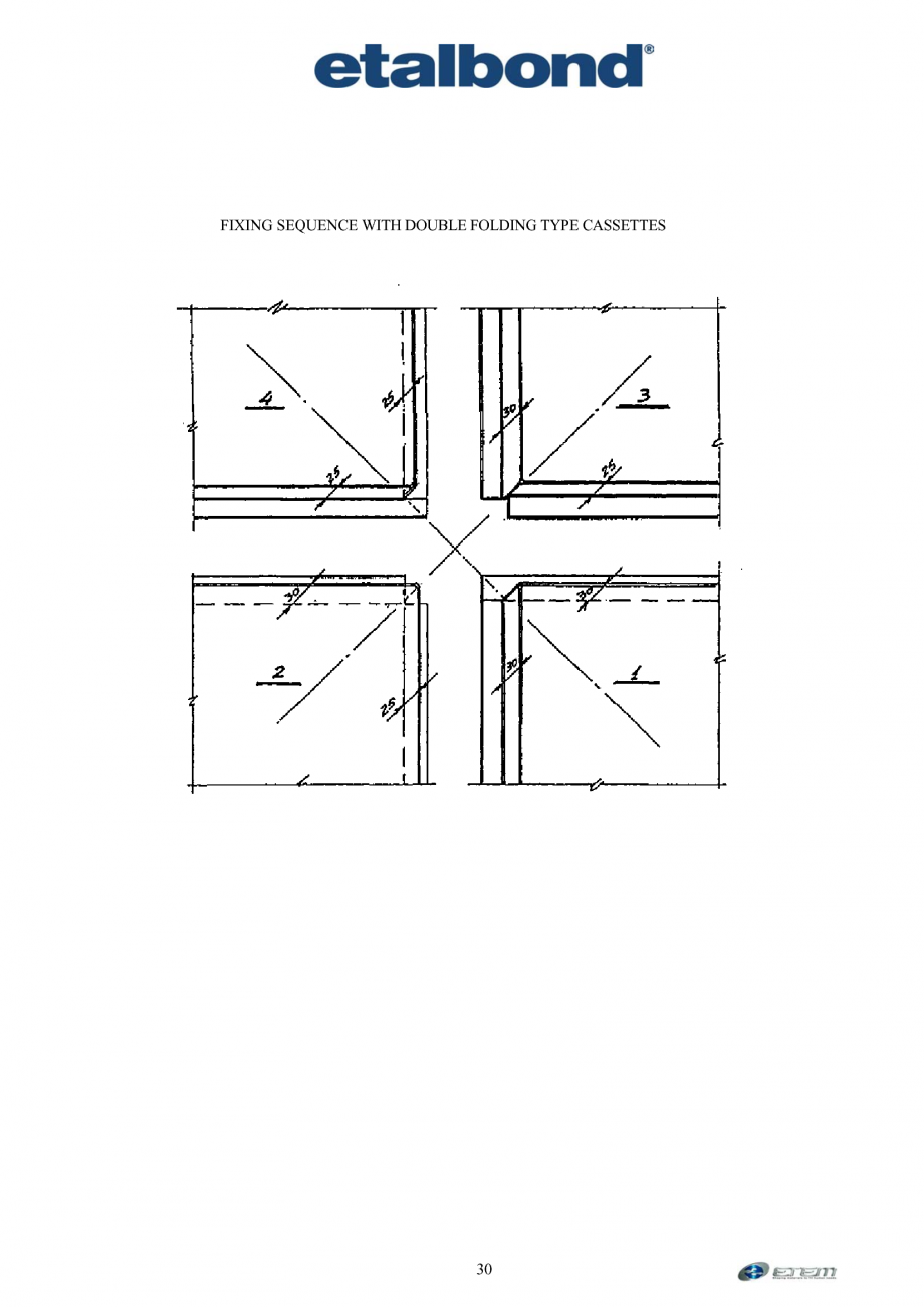 Pagina 21 - Prelucrarea panourilor compozite din aluminiu ETALBOND etalbond ® light, etalbond...