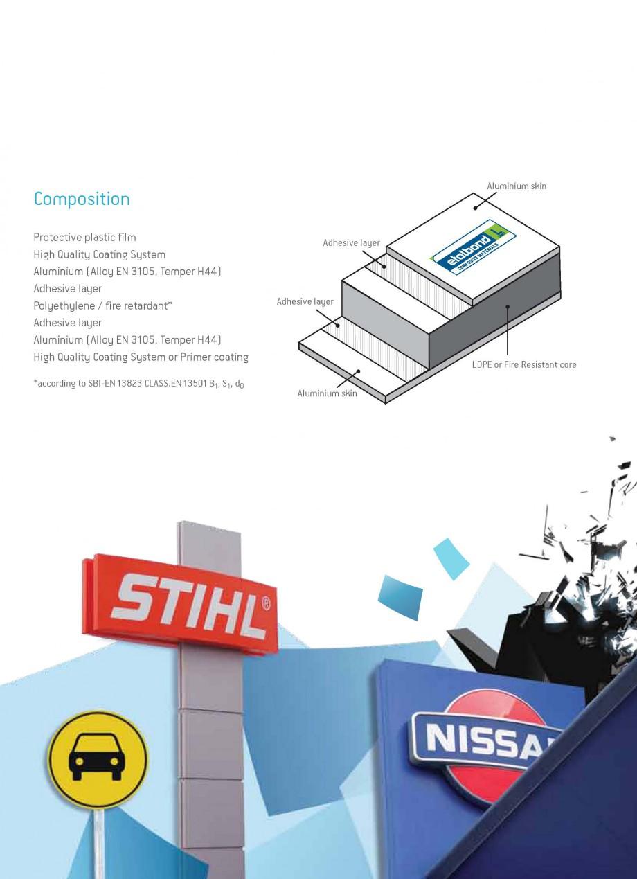 Pagina 3 - Panouri compozite din aluminiu pentru fatade ETALBOND etalbond ® light, etalbond ®...