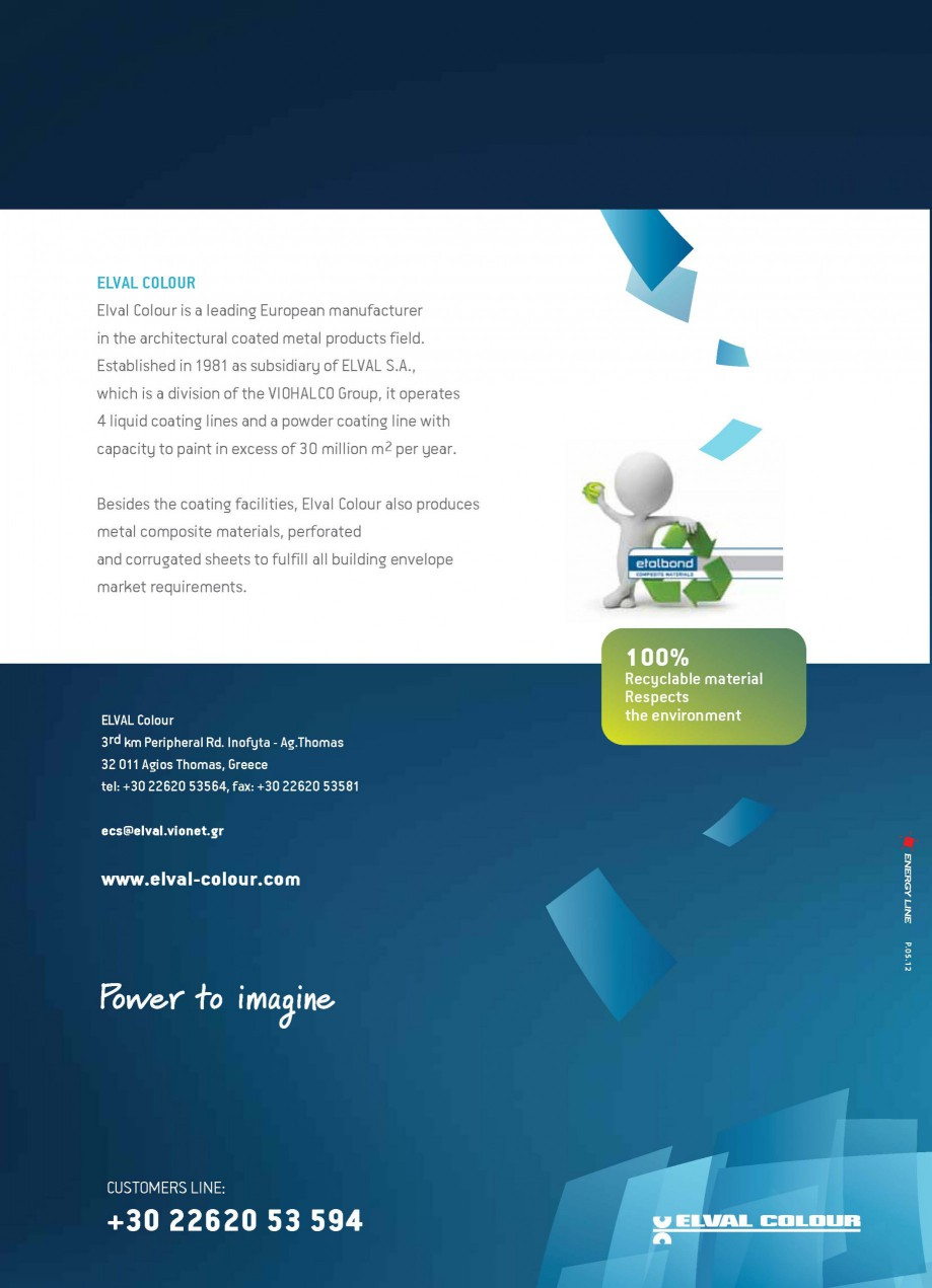 Pagina 8 - Panouri compozite din aluminiu pentru fatade ETALBOND etalbond ® light, etalbond ®...