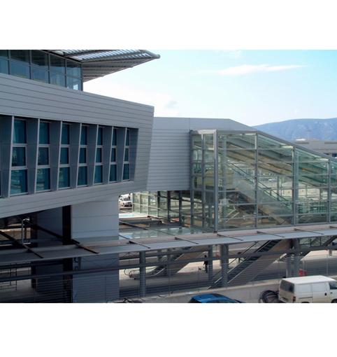 Proiect - Aeroport Suburban Railway Station Atena, Grecia ETALBOND - Poza 46