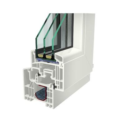 Profile din PVC pentru usi de intrare GEALAN - Poza 1