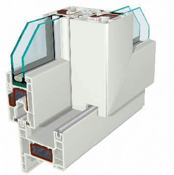 Profile din PVC pentru usi glisante GEALAN - Poza 1