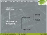 Tarife de proiectare si valori de investitii