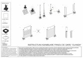 Instructiuni de asamblare panouri de gard Olanda