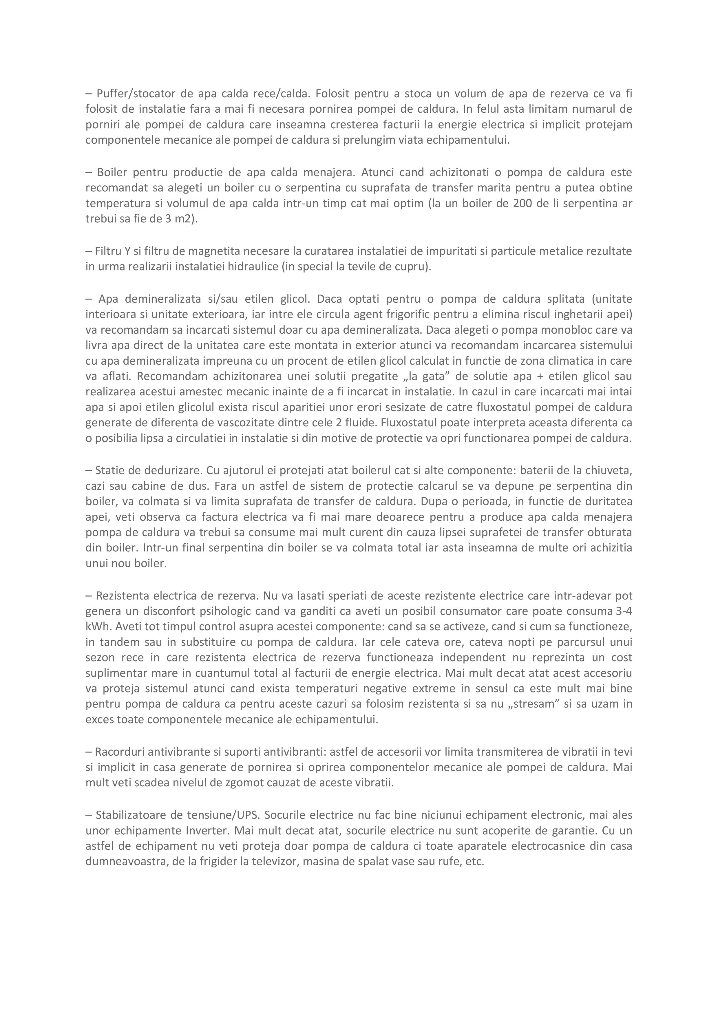 Pagina 7 - Ghid de achizitie pompa de caldura Maxa Italia