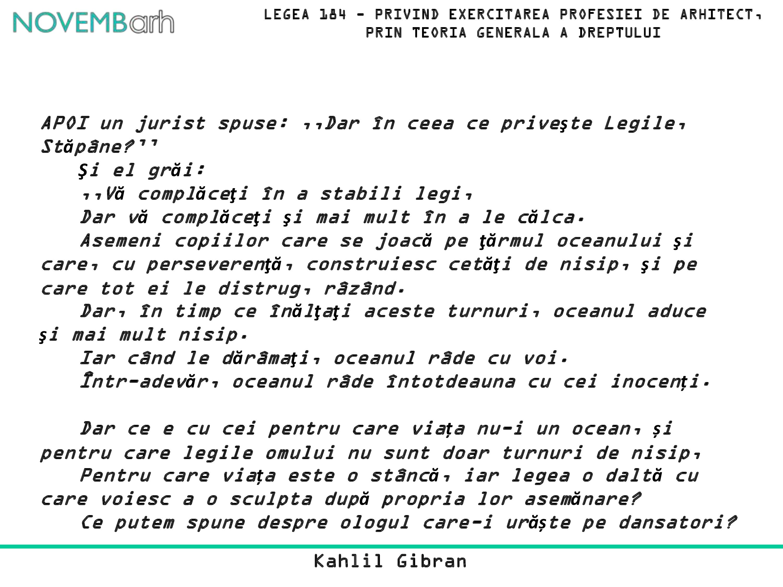 Pagina 3 - Legea 184 - privind exercitarea profesiei de arhitect, prin teoria generala a dreptului