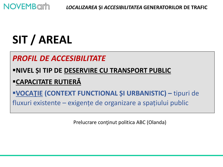 Pagina 5 - Localizarea si accesibilitatea generatorilor de trafic