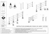 Instructiuni de asamblare panou de gard Hystria