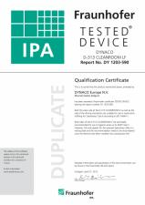 Certificat D-313 Cleanroom