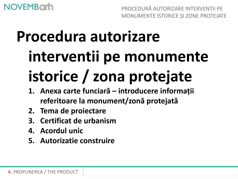 Pagina 5 - Procedura autorizare interventii pe monumente istorice si zone protejate