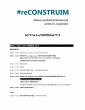 Program #reCONSTRUIM 2019