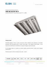 Corp de iluminat interior FIRI 08 414 DP HF-P