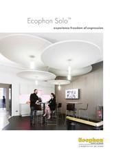 Ecophon Solo - design original si performante acustice
