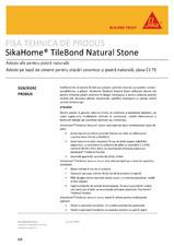 Adeziv pentru piatra naturala SikaHome TileBond Natural Stone