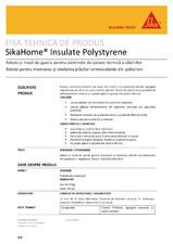 Adeziv pentru termosistem cu polistiren SikaHome Insulate Polystyrene