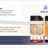 AM02, audioghid mini,cu player Mp3, personalizabil - Amro Electronic Grup