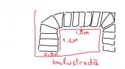 trepte + balustrada.png Buna ziua,  Doresc sa imi fac balustrada la scarile interioara din sticla securizata laminata de 10 mm la casa.   Prinderea balustradei doresc sa o fac din laterala treptelor. Pentru asta am nevoie de elemete de prindere murale. Distanta dintre foaia de sticla si laterala scarilor trebuie sa fie intre 4 si 5 cm. Cu 3 cm ies teptele din lemn in lateral in consola fata de treptele din beton. Cred ca acest model https://storage.spatiulconstruit.ro/storproc/firma/h32/f3292/gama/1823/foto_gama/60149/sadev_decor_60149_011001fx.jpg as avea nevoie. La ce distanta se monteaza aceste prinderi murale? Intreb ca sa imi dau seama cate as avea nevoie. Trimit atasat o schita rapida cu treptele. Pot trimite o schita mai detaliata cu dimensiuni exacte daca e nevoie.  Balustrada va avea 4 unghiuri de 90 grade. Pentru rigidizarea intregii structuri voi avea nevoie de elemente de imbinare, conectoare pentru pereti de sticla cred ca acest model https://storage.spatiulconstruit.ro/storproc/firma/h32/f3292/gama/1823/foto_gama/60118/sadev_decor_60118_rv_02_29_20_dt.jpg cate astfel de elemente sunt necesare pentru fiecare schimbare de unghi?  Mana curenta doresc sa o fac din lemn, suprapus pe sticla. Cred ca acesti conectori https://storage.spatiulconstruit.ro/storproc/firma/h32/f3292/gama/1823/foto_gama/126928/element_de_prindere_balustrade_sadev107_126928.jpg ar fi potriviti. Cate elemente dintr-acestea ar trebui la fiecare metru de balustrada?  Multumesc!