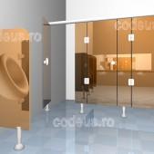 Compartimentari sanitare din HPL, PAL sau sticla