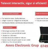 Aparat profesional de vot fără fir, M10, Amro Electronic Grup