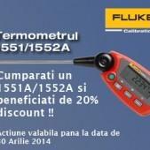 Termometre FLUKE cu discount