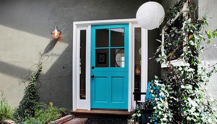 Ce culori se potrivesc pentru ușa de la intrare în casă - Ce culori se potrivesc