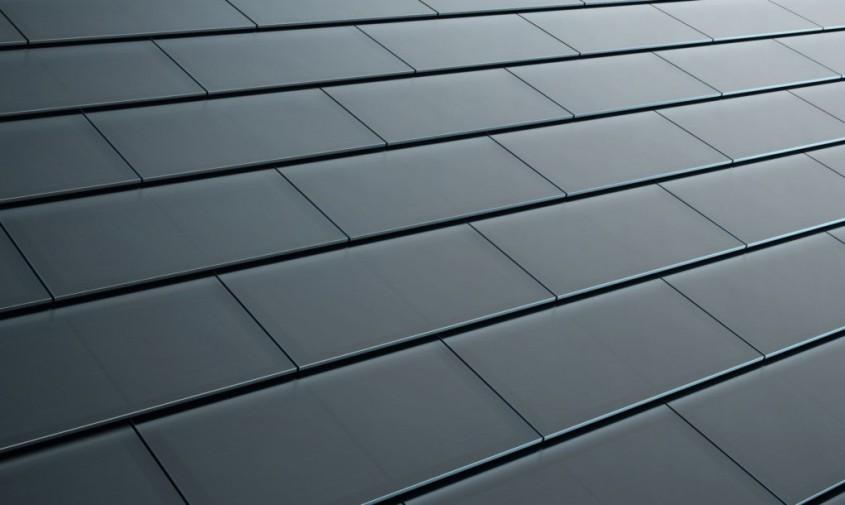 Tigla solara Tesla neagra - Tiglele solare Tesla sunt deja disponibile pe piata!