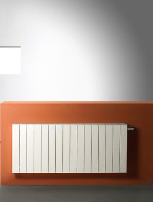 Calorifer aluminiu orizontal Zaros (ZAROS H100) - Calorifere decorative din aluminiu