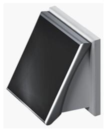 PSS 102 - Ventilator de perete cu panou solar - PSS 102 - Ventilator de perete