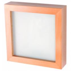 Aplica Agata wenge 1x40W E14, sticla - Iluminat corpuri de iluminat