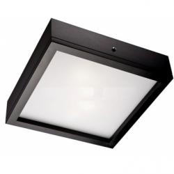 Aplica Agata wenge 2x60W E14, sticla - Iluminat corpuri de iluminat
