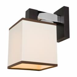 Aplica Amelia wenge1x60W E27, textil - Iluminat corpuri de iluminat