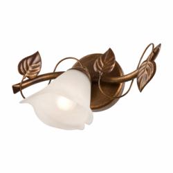 Aplica Bluszcz maro 1x40W E14, sticla - Iluminat corpuri de iluminat